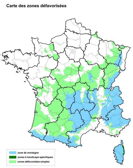 Zones agricoles défavorisées : Travert estime que