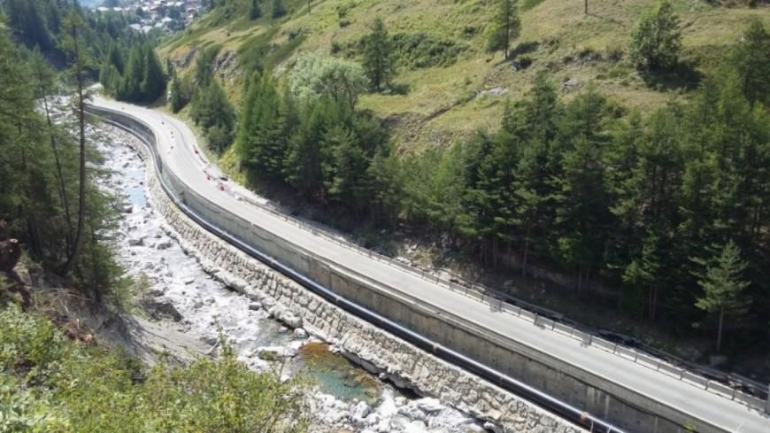 Hautes-Alpes : Pas de l'Ours, la RD 947 fermée depuis 13h30 ce mardi