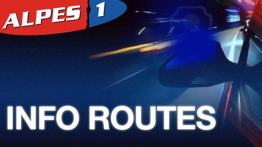 Alpes de Haute-Provence : la route nationale 202, à Annot, de nouveau coupée à la circulation
