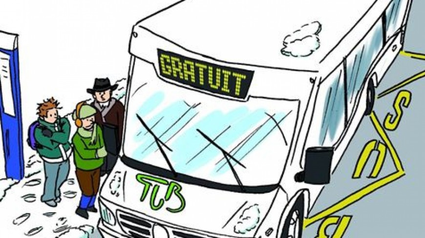 Hautes-Alpes : les bus de Briançon gratuits ce lundi