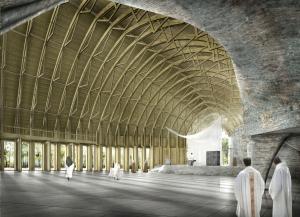 Hautes-Alpes : aménagement du sanctuaire du Laus, l'architecte enfin connu