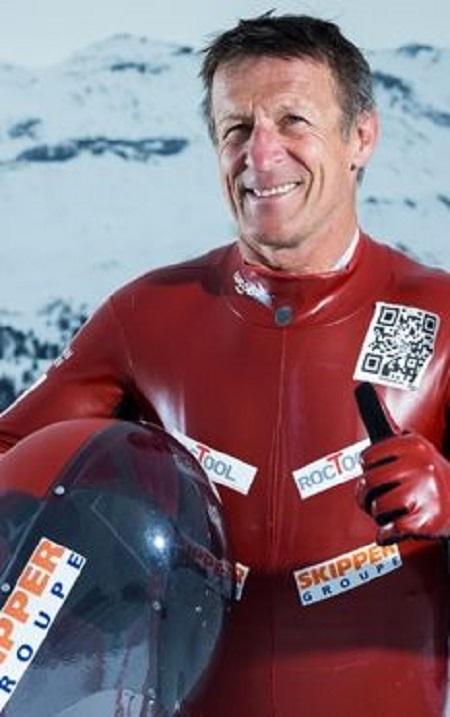 Hautes-Alpes : Eric Barone veut être le plus rapide en VTT sur neige