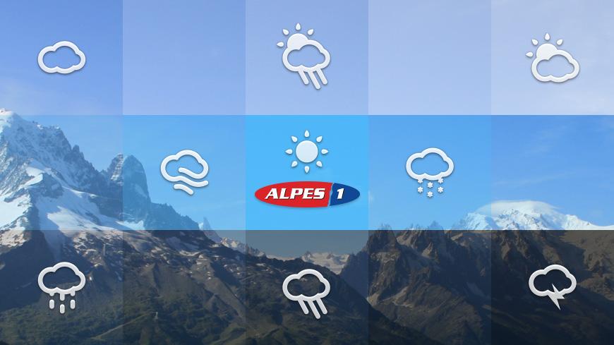 La météo des Alpes du Sud