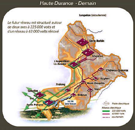 Hautes alpes le conseil constitutionnel donne raison for Haute durance