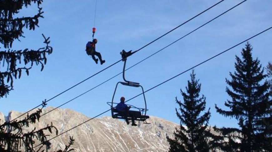Hautes-Alpes : journée de recyclage pour le personnel du domaine skiable du Dévoluy