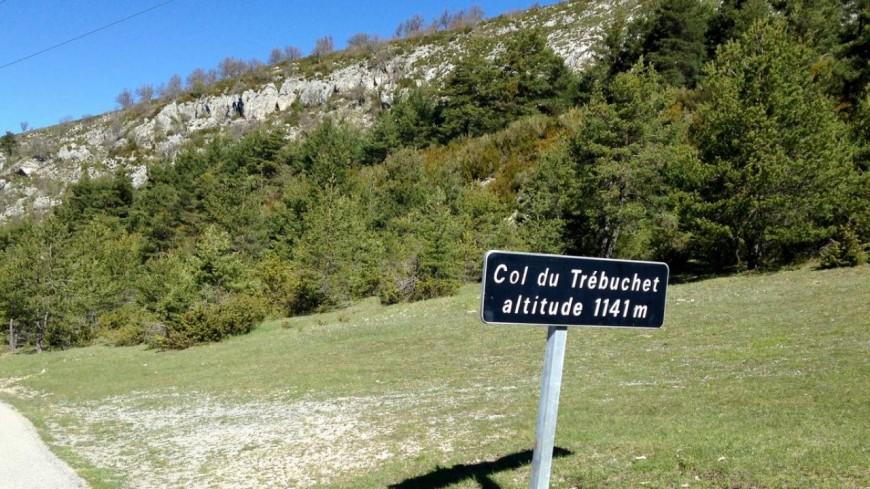 Alpes de Haute-Provence : un éboulement du col du Trébuchet
