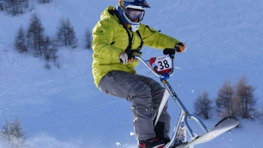 Alpes de Haute-Provence : Hugo Teulé, le jeune espoir du snowscoot français
