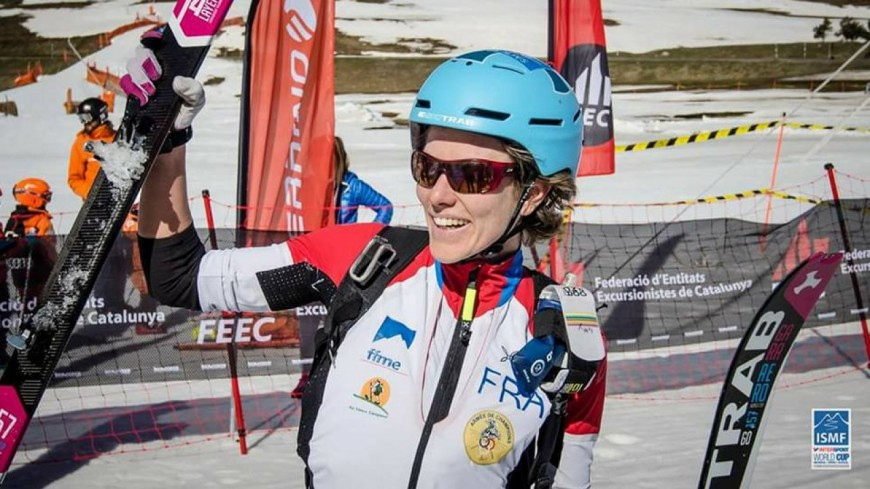 Hautes-Alpes : Laetitia Roux remporte la Coupe du Monde de ski alpinisme