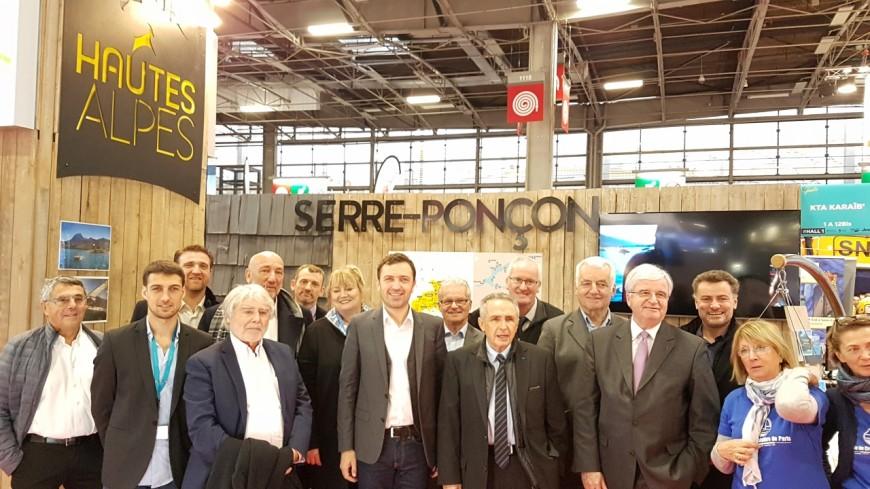 Alpes du Sud : Serre-Ponçon fait sa communication au salon NAUTIC de Paris