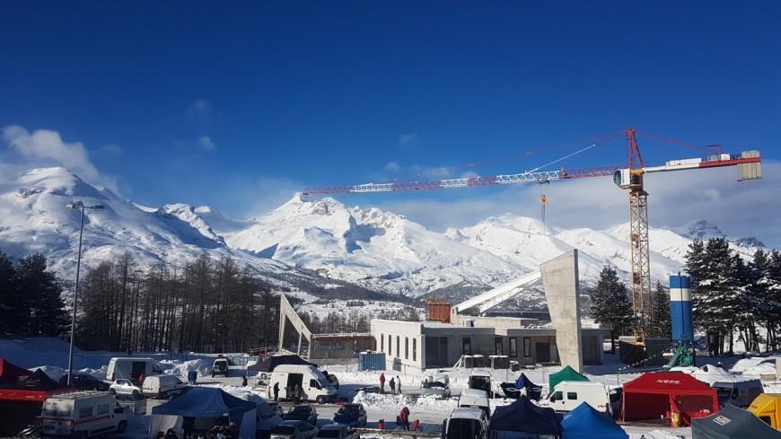 Hautes-Alpes : O'Dycéa, le pôle bien-être du Dévoluy sort de terre