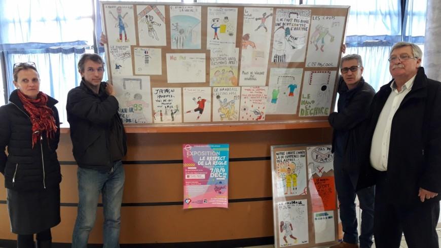 Hautes-Alpes : le handball au coeur de 250 dessins réalisés par élèves du collège Centre