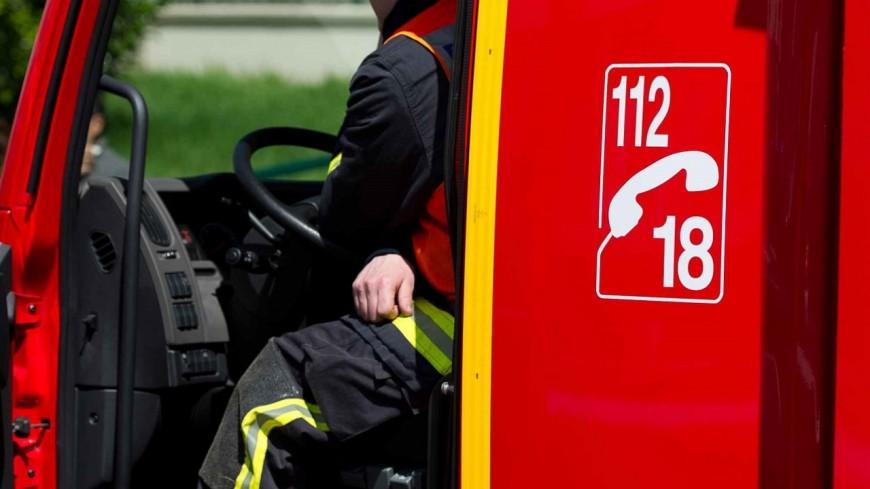 Hautes-Alpes : Val des Prés, un bâtiment agricole prend feu
