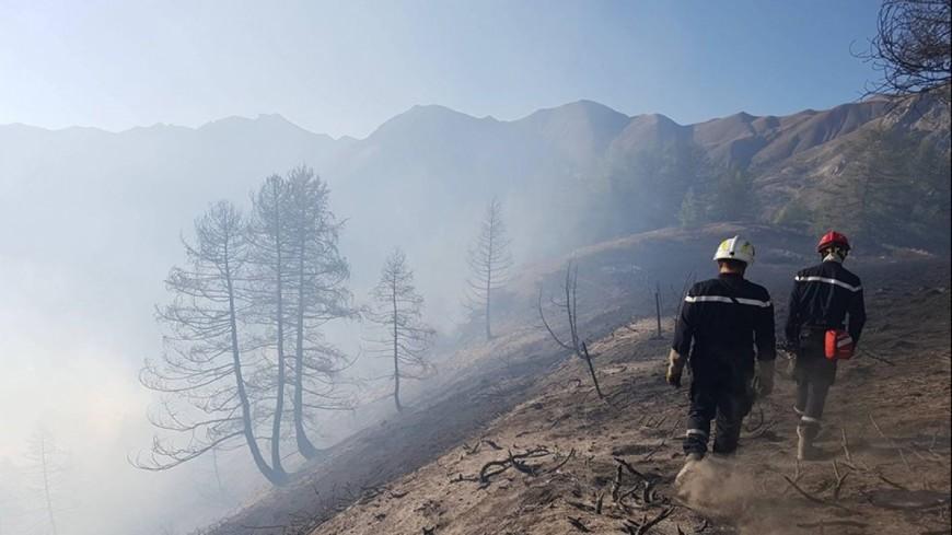 [MAJ]Alpes de Haute-Provence : l'incendie au Val d'Oronaye est maitrisé
