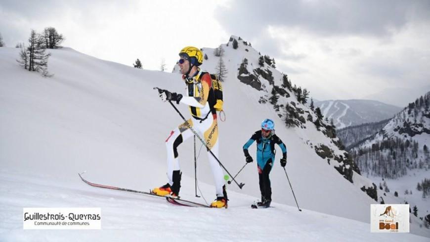Hautes-Alpes : Julien Michelon sur la première marche du Grand Béal !