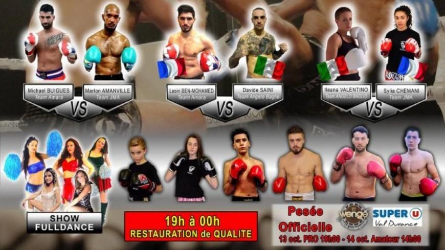 Alpes de Haute-Provence : pied-poing pour un gala de kickboxing à Sisteron