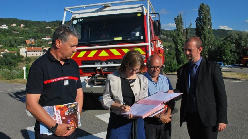 Hautes-Alpes : le SDIS 05 sur le pied de guerre pour lutter contre les incendies