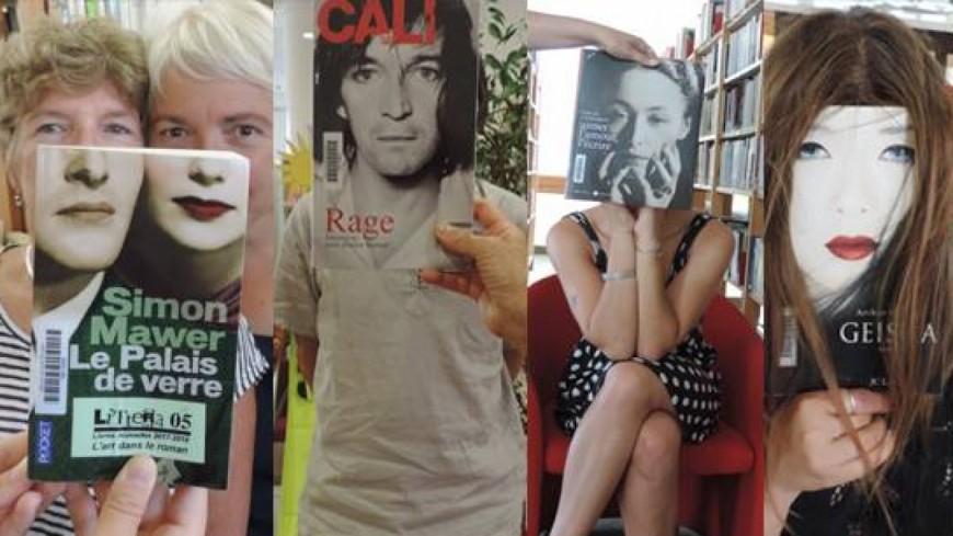 """Hautes-Alpes : quand la Médiathèque de Gap se met au """"bookface"""""""
