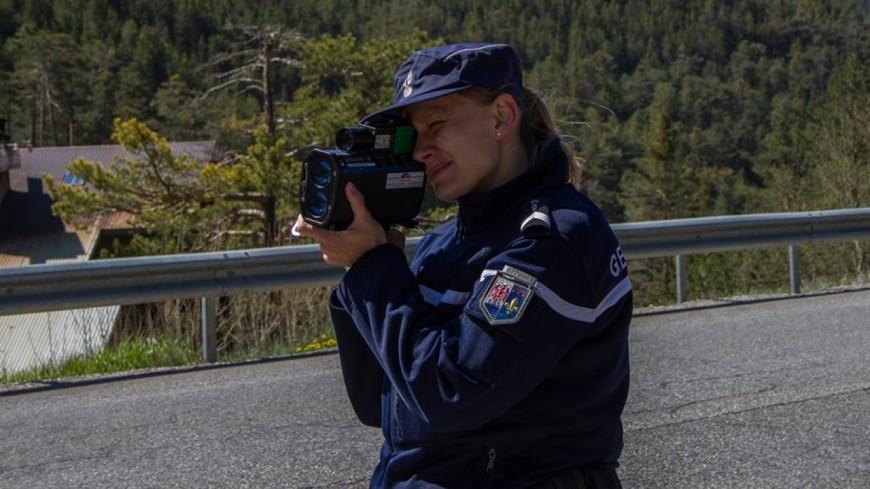 Hautes-Alpes : Crots, un automobiliste contrôlé à 156 km/h