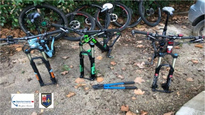 Alpes de Haute-Provence : il volait des vélos à Gréoux-les-Bains