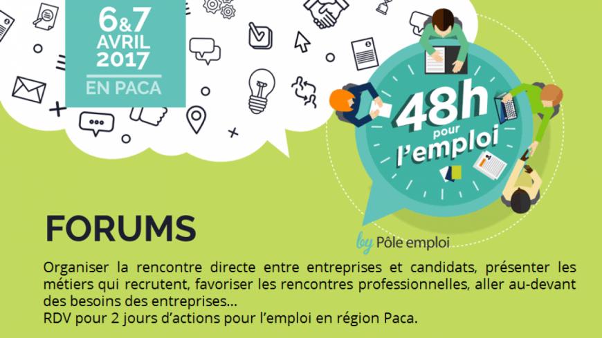 Alpes du Sud : 48 heures pour l'emploi dans les Hautes-Alpes et les Alpes de Haute-Provence