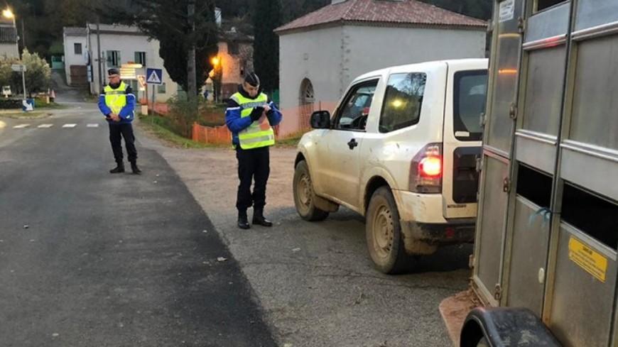 Alpes de Haute-Provence : 177 véhicules contrôlés dans le secteur de Castellane
