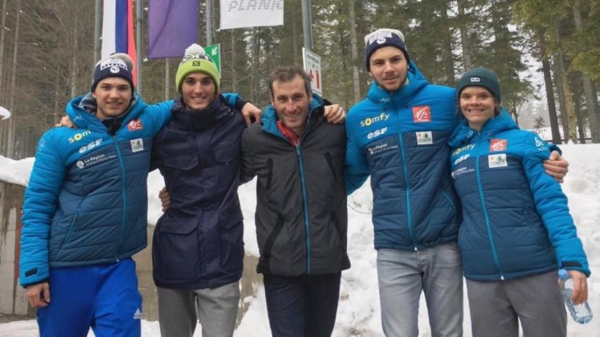 Hautes-Alpes : les fondeurs brillent sur les pistes slovènes