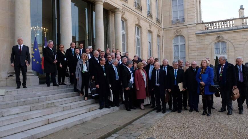 Alpes du Sud : René Massette et Jean-Marie Bernard reçus à l'Élysée aux côtés d'autres présidents de conseils départementaux