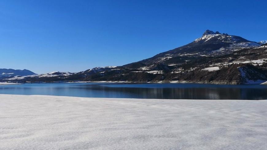 Hautes-Alpes : attention, les berges de Serre-Ponçon peuvent être dangereuses