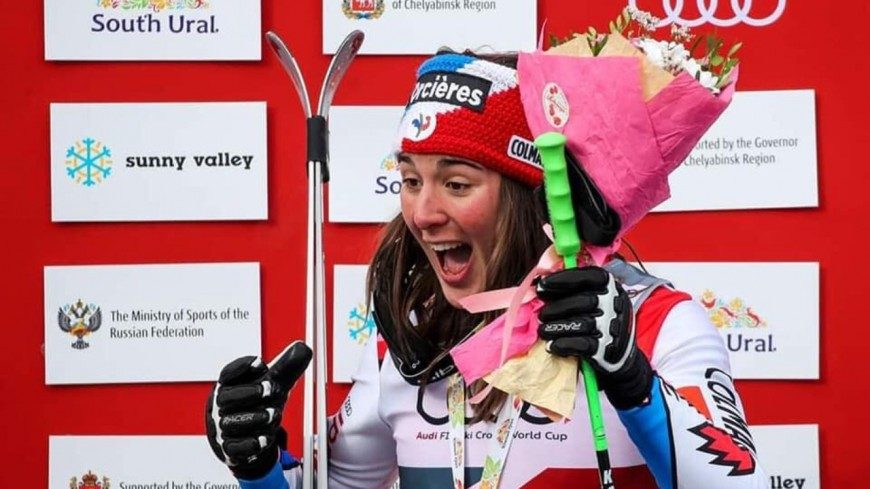 Hautes-Alpes : la champsaurine Alizée Baron sur le podium après la deuxième course de coupe du monde de ski cross