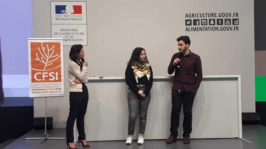 """Alpes de Haute-Provence : quatre étudiants de Digne les Bains reçoivent le premier prix pour leur film """"Draw my Meal"""""""