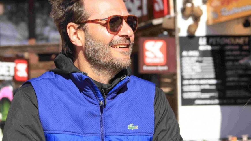 Hautes-Alpes : l'acteur Jean-Charles Chagachbanian en vacances à Risoul