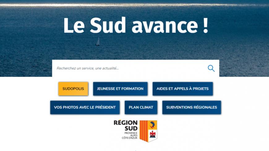 Région Paca : un site Internet refait à neuf