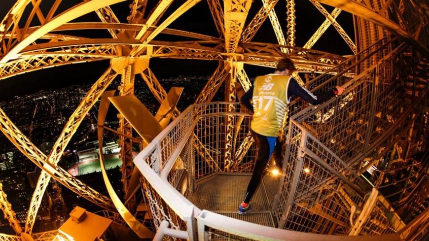 Hautes-Alpes : Stéphane Ricard s'attaque à la Verticale de la Tour Eiffel