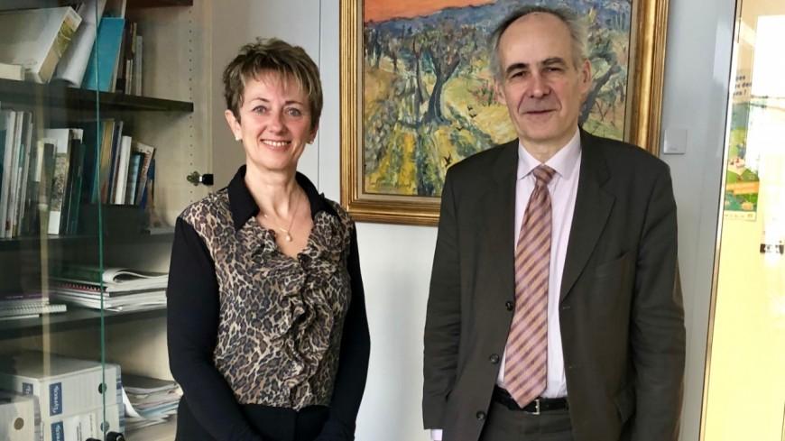 Hautes-Alpes : Patricia Morhet Richaud plaide la cause de la ligne Gap-Grenoble