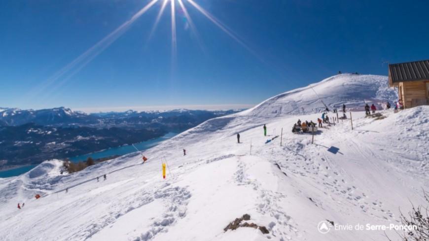 Hautes-Alpes : le domaine skiable de Réallon fermera par anticipation le 24 mars