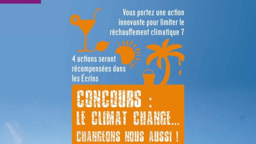 Hautes-Alpes : un concours pour limiter le changement climatique