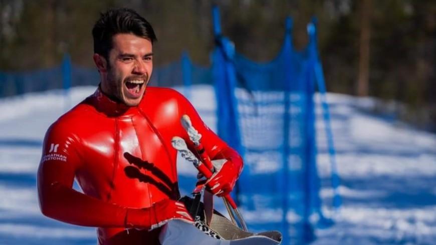 Hautes-Alpes : Simon Billy remporte la manche de Coupe du Monde de ski de vitesse