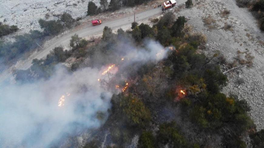 Alpes de Haute-Provence : 180 hectares parcourus par les flammes à Prads-Haute-Bléone