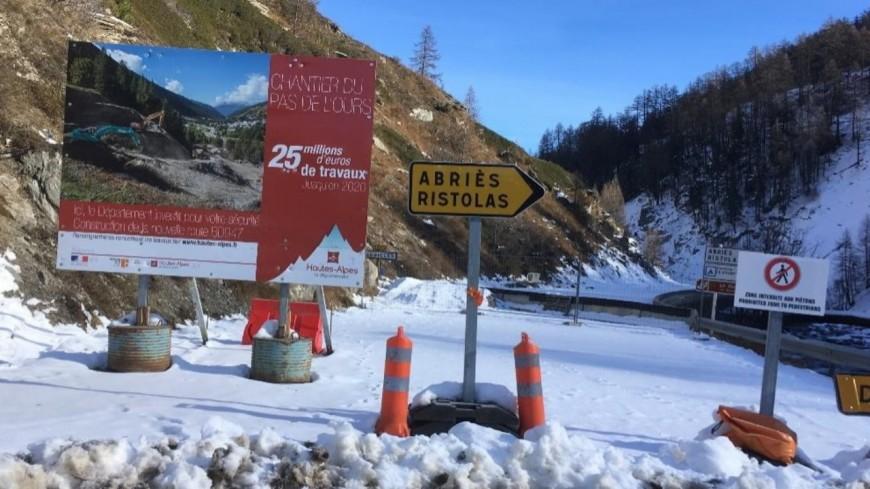 Hautes-Alpes : le chantier du Pas de l'Ours reprend... mais un retard est annoncé
