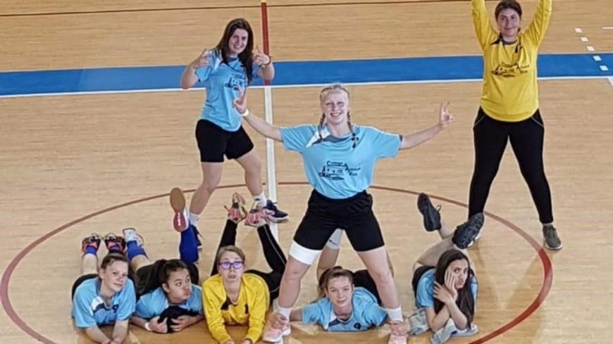 Alpes de Haute-Provence : les filles du Collège André Ailhaud de Volx qualifiées pour le championnat de France 2019 de handball UNSS
