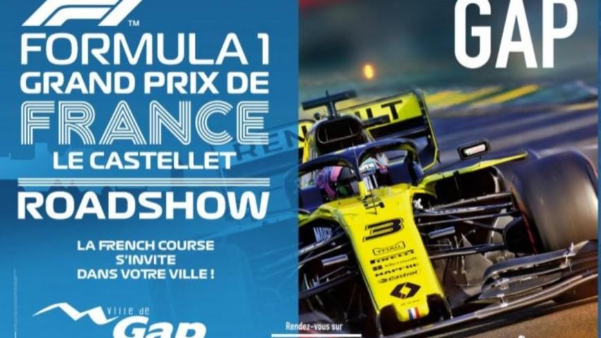 Hautes-Alpes : Gap accueille une Formule 1 dans ses rues