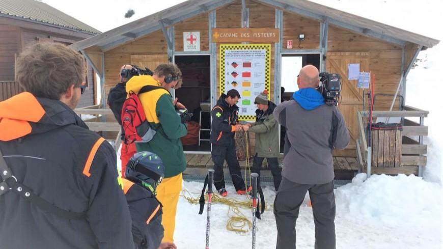 Hautes-Alpes : tournage à Superdévoluy