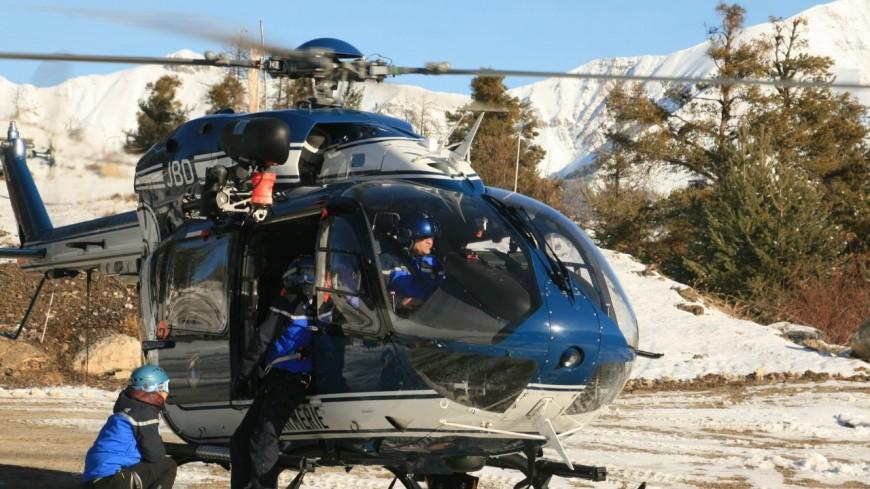 Hautes-Alpes : intervention du PGHM de Briançon sur le glacier noir