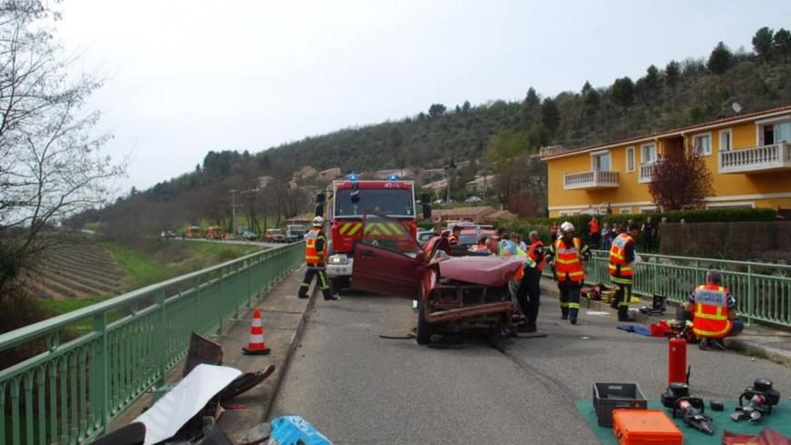 Alpes de Haute Provence : accident grave à Roumoules