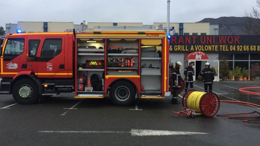 Hautes-Alpes : un incendie se déclare dans un restaurant Gap Sud