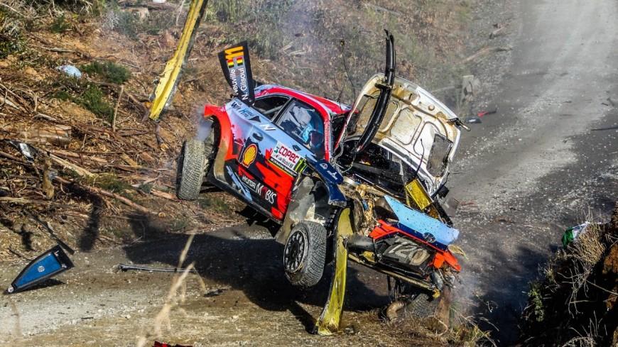 Hautes-Alpes :  Rallye du Chili, l'impressionnant crash de Neuville