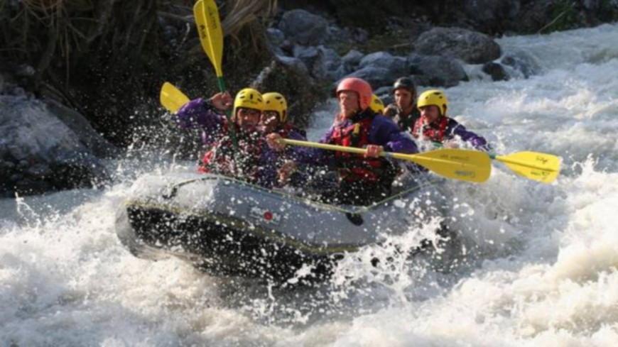 Hautes-Alpes : rafting, quatre Haut-Alpins en or !