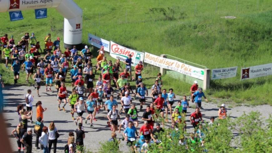 Hautes-Alpes : 200 coureurs présents pour la 7ème édition du Trail de la Paix