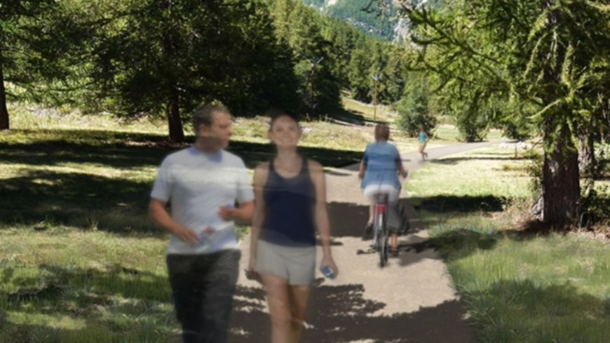 Hautes-Alpes : une voie douce pour relier le Casset à Briançon ?