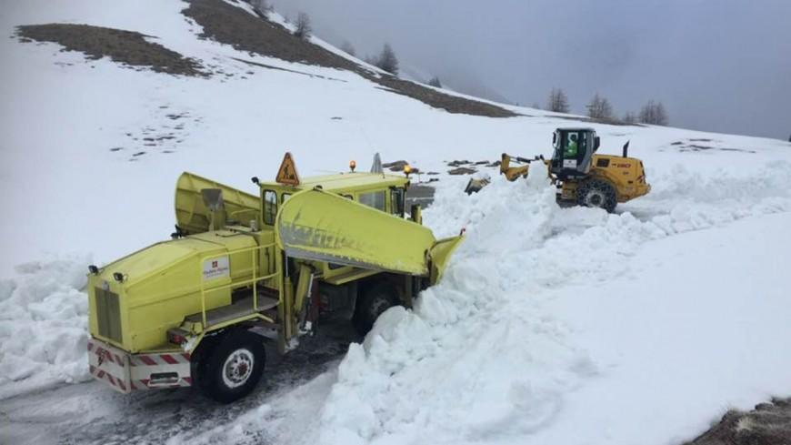 Hautes-Alpes : (MAJ)  le col Izoard devrait ouvrir vendredi en fin d'après-midi